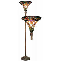 You should see this Rose Torchiere Floor Lamp in Bronze on Daily Sales!