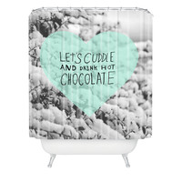 Allyson Johnson Winter Time Love Shower Curtain
