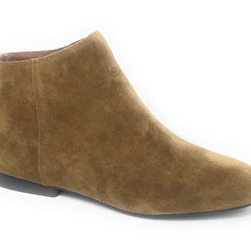 Lucky Brand Gaines Tapenade Oiled Suede Booties