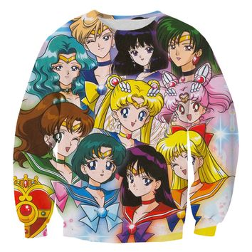 SAILOR SCOUTS SWEATER
