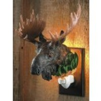 Wild Wings Moose Nightlight