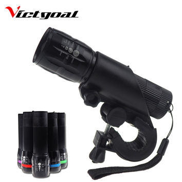VICTGOAL Bicycle Light Bright Night Cycling Light Safety Head Front Lamps Vintage Highlight Lights Supporter Headlight K1038