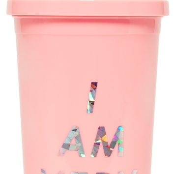 I am Very Busy Sip Sip Tumbler by Bando - Pink