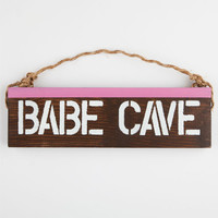Babe Cave Sign Natural One Size For Women 25292542301