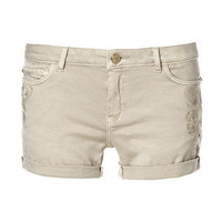 EMBROIDERED SHORTS - Shorts - Woman | ZARA United States
