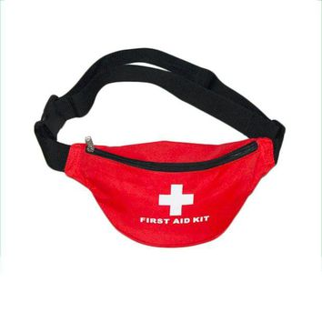 ONETOW Sales Promotion Outdoor Sports Camping Home Medical Emergency Survival First Aid Kit Bag waist bag free shipping