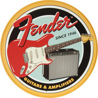 Fender Tin Concert Sign