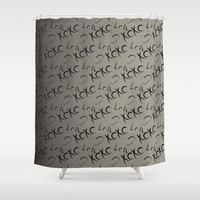 XOXO  Shower Curtain by GoAti