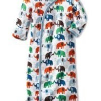 Magnificent Baby Magnificent Baby Boy Elephants Marching Gown - Clothing 108418 : lilylimes