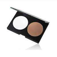 New 2 Colors Professional Beauty Face Cream Concealer Contour Makeup Palette = 1748266180