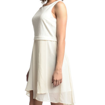 BCBGeneration Whispe White Dress