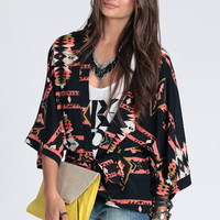 Tribal Summons Cardi - $34.00: ThreadSence, Women's Indie & Bohemian Clothing, Dresses, & Accessories