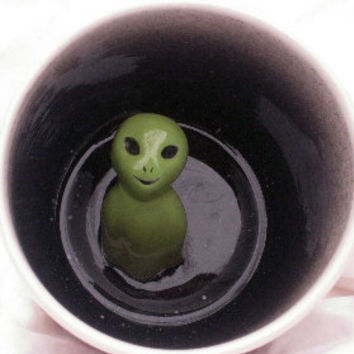 Alien Surprise Mug (Made to Order)