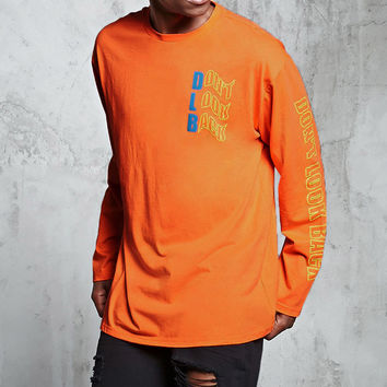 Dont Look Back Long-Sleeve Tee