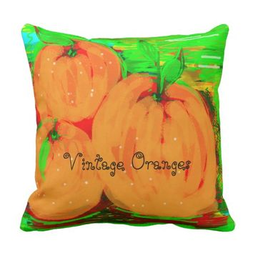 "pillow ""Vintage Oranges"""