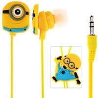 Despicable Me 2 Minion Stuart 3.5mm 1.2m In-Ear Headphone Headset Earpods