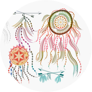 Dreamcatcher Circle Wall Decal