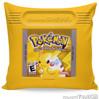 Pokemon Yellow Couch Pillow