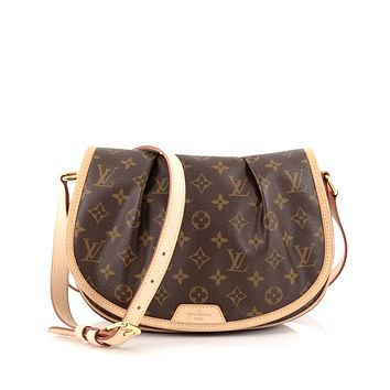 Tagre™ LOUIS VUITTON Menilmontant Monogram Canvas PM Cross body bag