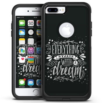 Everything Starts with a Dream - iPhone 7 or 7 Plus Commuter Case Skin Kit