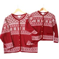 Twinsies! Big + Little Matching Ski or Ugly Christmas Sweaters