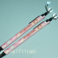 2013 Sanrio My Melody Mechanical Pencil and Ball Pen Ballpoint Pen set of 2