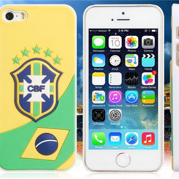 World Cup Brazil Football Team Case for iPhone 5/5S