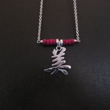 Beauty Chinese symbol Necklace