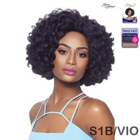 OUTRE SYNTHETIC SWISS LACE FRONT WIG - CURLY VOLUMINOUS - ANTONIA