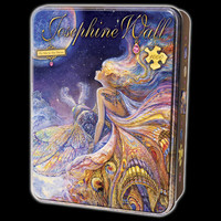 Josephine Wall Fly Me To The Moon Jigsaw Puzzle in Collectors Tin