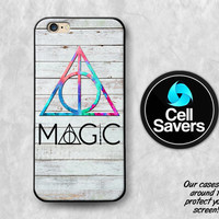 Deathly Hallows iPhone 6s Case iPhone 6 Case iPhone 6 Plus Case iPhone 6s Plus iPhone 5c Case iPhone 5 Case Magic Harry Potter Wand Cute HP