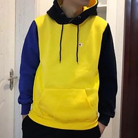 Champion Fashion Casual Hooded Top Sweater Pullover