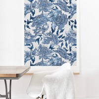 Holli Zollinger Summertime Indigo Art Print And Hanger