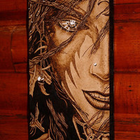 Night Elf pyrography