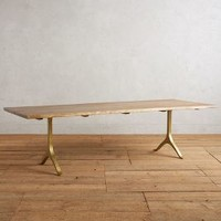Nemus Dining Table by Anthropologie in Natural Size: