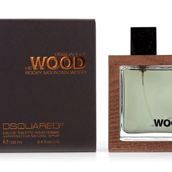 Dsquared He Wood Rocky Mountain Wood 3.4 Edt Sp