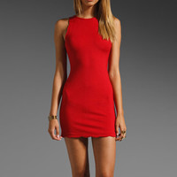 For Love & Lemons Rosarito Dress in Red from REVOLVEclothing.com