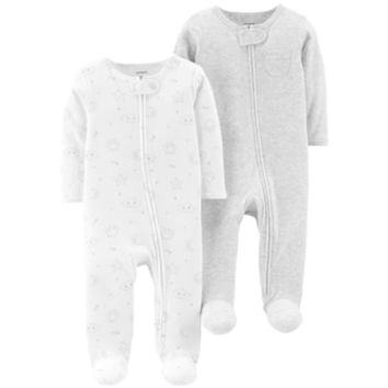 Baby Carter's 2-Pack Patterned Sleep & Plays | null