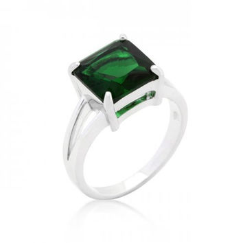 Emerald Gypsy Ring (size: 10) (pack of 1 ea)