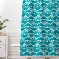 Heather Dutton Lazy Days Shower Curtain And Mat