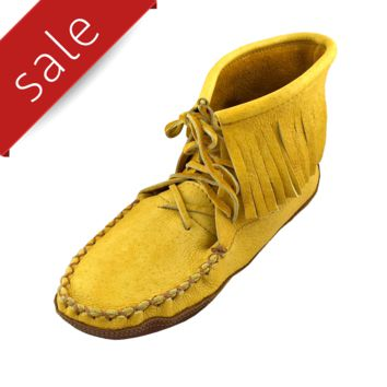 Men's Moosehide & Bison Moccasin Boots - 180M
