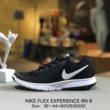 NIKE FLEX EXPERIENCE RN 6 Causel Sports Running Shoes Sneaker