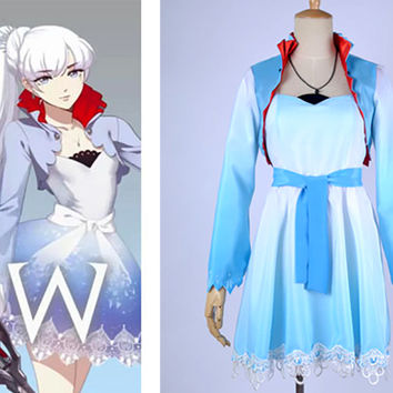 Weiss Schnee (White) Costume from RWBY