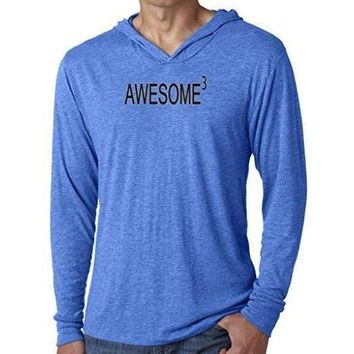 Yoga Clothing for You Mens Awesome Cubed Lightweight Hoodie Tee Shirt