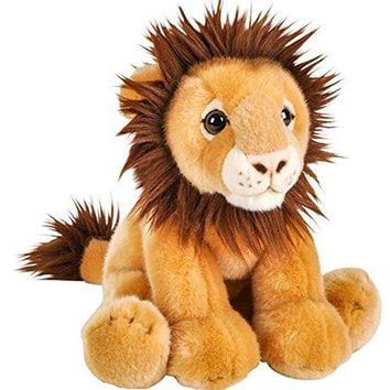"Wildlife Tree 12"" Stuffed Lion Plush Floppy Animal Heirloom Collection"