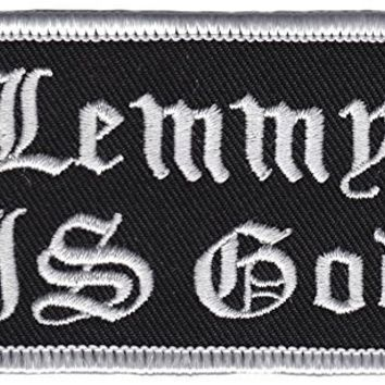 Lemmy Is God Patch Thrillhaus