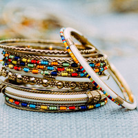 The King Regina Bangle Stack | Lost Queens