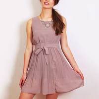 Moonlight Mauve Dress -1 left