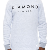 The Stone Cut LS Football Top in Salt