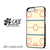 Ice Hockey Rink Diagrams DEAL-5517 Apple Phonecase Cover For Iphone 6 / 6S